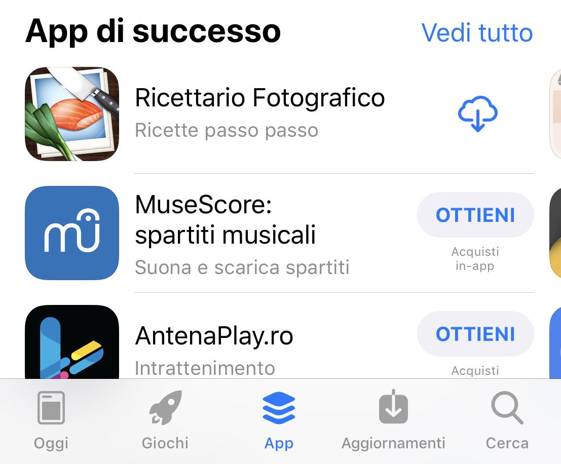 Il problema delle Applicazioni per iOS